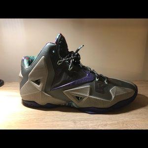 Nike LeBron terra-cotta's size 10